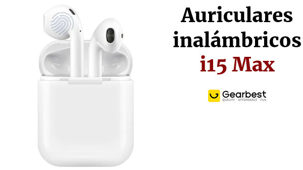 i15 Max Touch Wireless Bluetooth 5.0 Earphones