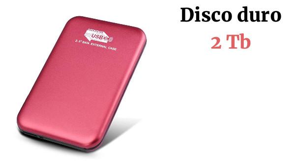 MacBook Mac,Xbox Disco Duro Externo 2 TB 2TB,Rojo Disco Duro Externo para PC Chromebook
