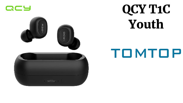 QCY T1C Youth Version Mini Dual V5.0 Wireless Earphones