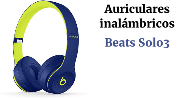 Auriculares Inalámbricos Beats Solo3 Wireless (Bluetooth) - Pop Collection -