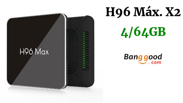 H96 Máx. X2 S905X2 4GB DDR4 RAM 64GB ROM 4K Android 8.1 CAJA DE TV WiFi USB 3.0 TV 5G - AU