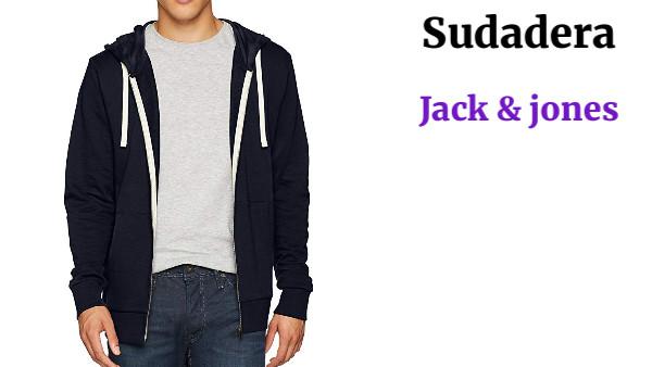 Jack /& Jones Jjeholmen Sweat Zip Hood Noos Sudadera para Hombre
