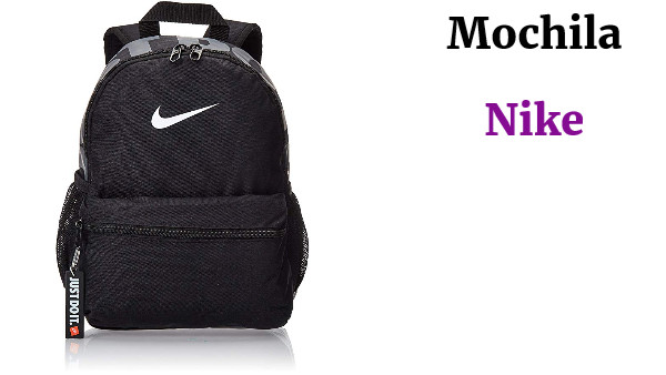 Pizza Gracioso costo  Mochila Jr.Nike Just do it Negro - VaDeGangas