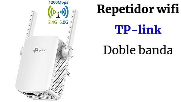 TP-Link RE305 - Repetidor WiFi AC1200Mbps Inalámbrico