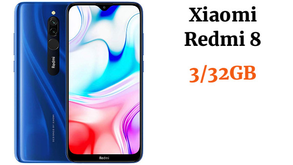 "Xiaomi Redmi 8 Smartphone,4GB 64GB Mobilephone,6,22/""Pantalla Snapdragon 439 Tel/éfono M/óvil 12MP C/ámara Dual,Versi/ón Global Azul"