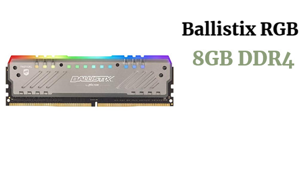 Ballistix Tactical RGB 8GB DDR4