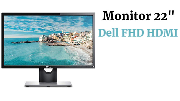 "Dell 22"" FullHD HDMI"