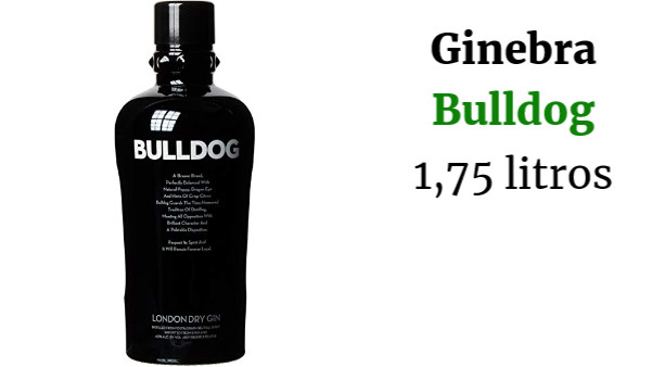 Bulldog Ginebras - 1750 ml