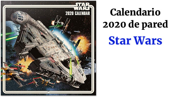 ERIK - Calendario de pared 2020 Star Wars Classic, 30 x 30 cm (incluye póster de regalo)