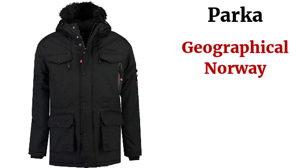 Geographical Norway Parka Hombre ALCALINE Azul Marino