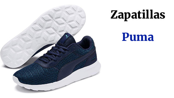 PUMA Activate Low Mens Sneakers Low Shoes Blue