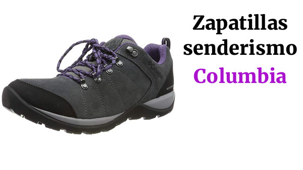 Columbia Fire Venture S II WP, Zapatos de Senderismo Impermeables para Mujer