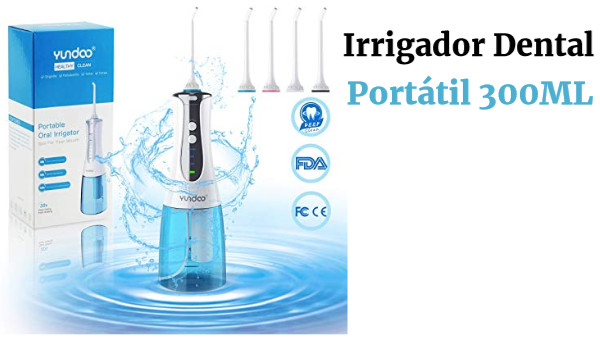 Irrigador Dental Portátil 300ML