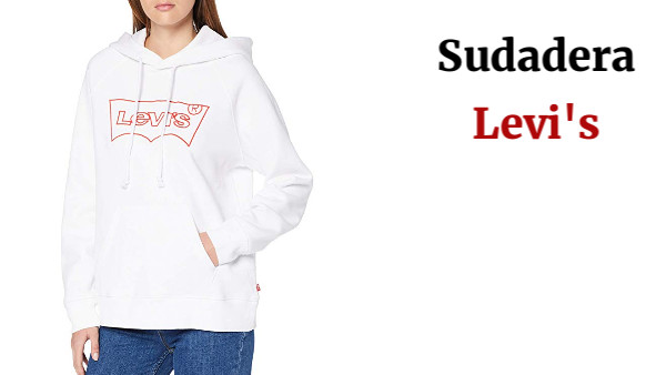 Levi's Graphic Sport Hoodie Capucha para Mujer