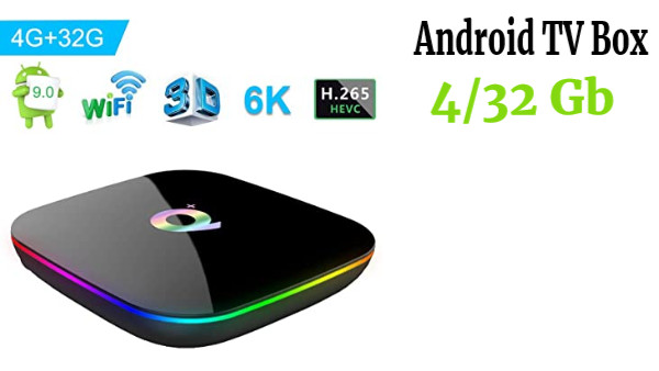 Android 9.0 TV Box Q Plus