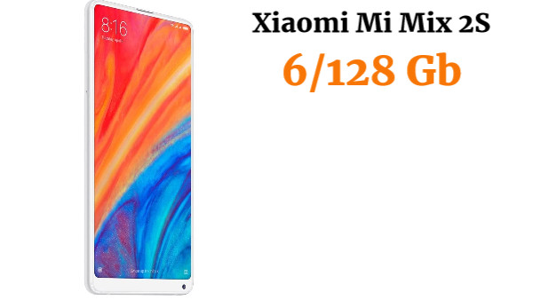 "Xiaomi Mi Mix 2S 5.99"" SIM Doble 4G 6GB 128GB 3400mAh Blanco - Smartphone (15,2 cm (5.99""), 128 GB, 12 MP, Android, 8.1, Blanco)"