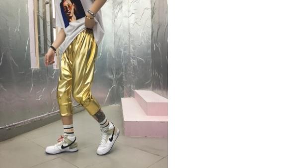 Moda 2020 Diseno Original Traje De Lentejuelas Para Hombre Pantalones Cortos De Hip Hop Pantalones De Club Nocturno Ropa De Calle Punk Para Hombres Pantalones Cortos De Verano De Hombre Vadegangas
