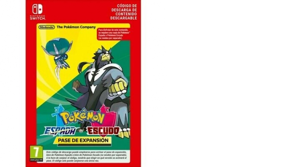 POKEMON ESPADA O POKEMON ESCUDO PASE EXPANSIÓN DESCARGA DIGITAL NINTENDO SWITCH