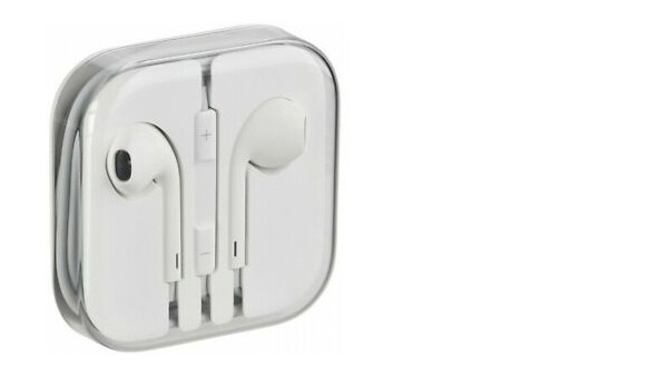 Auriculares Original 100% Apple MD827 Jack 3.5mm iPhone Earpods 5S SE 6 6S iPad