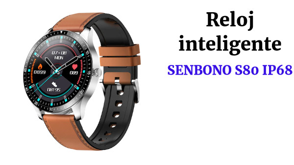 pre-sales SENBONO S80 IP68 Waterproof Smart Watch Sports  Fitness Tracker with Calls reminder Heart Rate Sleep Monitor Multi-sport Smartwatch