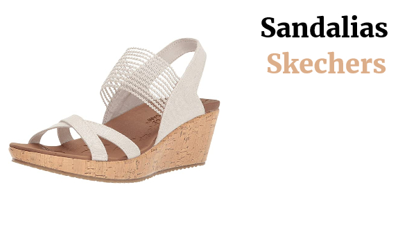 Skechers Beverlee-High Tea Sandalias