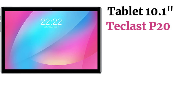 Tablet PC 10.1 Pulgadas TECLAST P20 4G LTE  Android 10 2GB+32GB