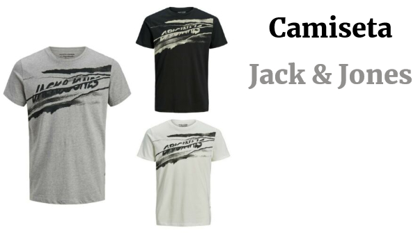 JACK&JONES Hombre Camiseta Top Polo TS slim fit 22823