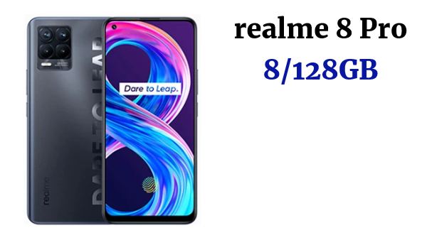 "realme 8 Pro Versión Global 8GB 128GB Smartphone 108MP Ultra Quad Cámara 6,4 ""Super AMOLED Pantalla Completa 50W SuperDart cargo; code: 20ALICUMPLE11(€199-20); 12ALICUMPLE11(€120-12); 10ALICUMPLE11(€100-10)"