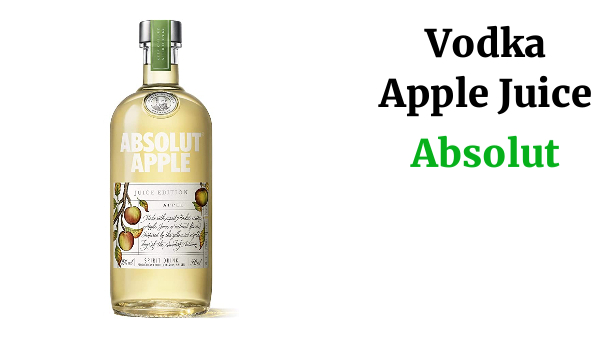 Absolut Vodka Apple Juice Edition - 500 ml
