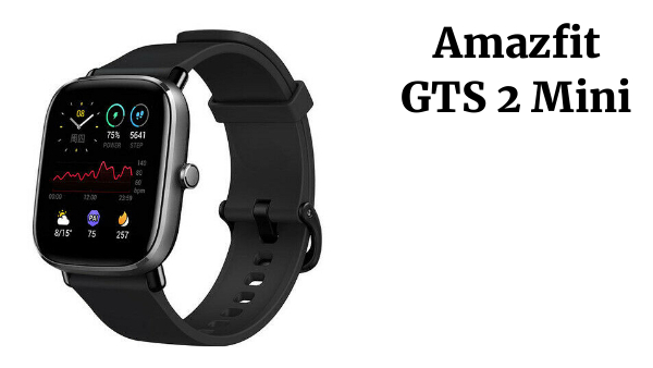 Amazfit GTS 2 Mini GPS Sports Smartwatch Bluetooth 5.0 Pantalla AMOLED