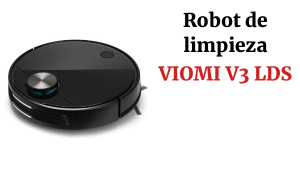 Global Version VIOMI V3 LDS Laser Navigation Wet and Dry Robot Vacuum Cleaner Mopping  UP to 150 mins Battery Life