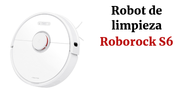 Roborock S6 Robot Vacuum Cleaner  5200mAh Battery 2000Pa Suction Faster Quad Core CPU -CZ Warehouse