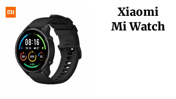 Xiaomi Mi Watch 1.39 '' GPS Fitness Tracker 5ATM Waterproof Global Version