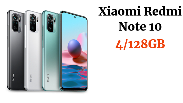 Xiaomi Redmi Note 10 4GB 128GB 6,43'' Smartphone Snapdragon 678 Versión Global