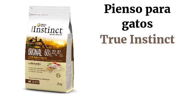 True Instinct Original - Nature's Variety - Pienso para Gatos con Pollo - 1,25kg